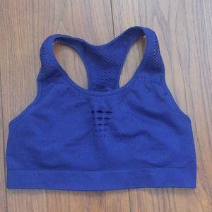 Ivy Park blue sports tank top bra S worn once